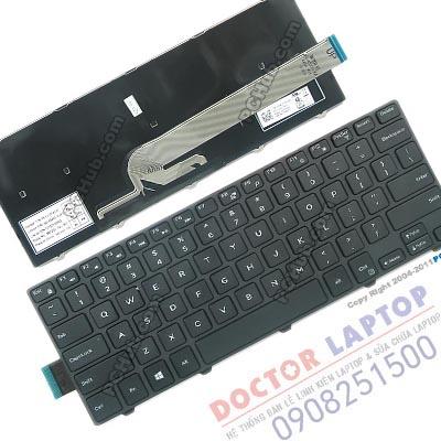 Bàn Phím Dell Inspiron 3468 14-3468, Thay Ban Phim Laptop Dell 3468
