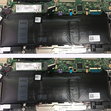 Pin Laptop Dell Inspiron 7370 13-7370, Thay Pin Dell 7370